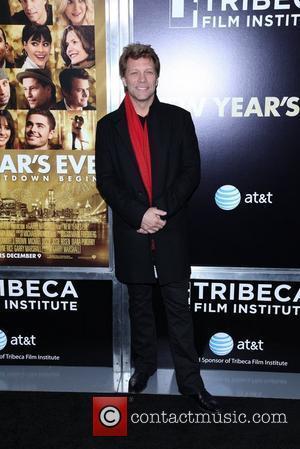 Jon Bon Jovi New York premiere of 'New Year's Eve' at the Ziegfeld Theatre - Arrivals New York City, USA...