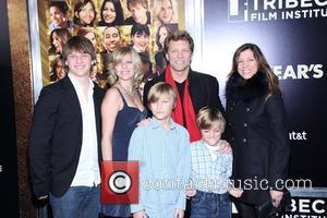 Jesse Bon Jovi, Stephanie Rose Bon Jovi, Romeo Jon Bon Jovi, Jon Bon Jovi, Jacob Hurley, and Dorothea Hurley ....