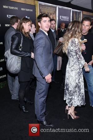 Zac Efron New York premiere of 'New Year's Eve' at the Ziegfeld Theatre - Arrivals  New York City, USA...