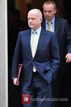 William Hague and 10 Downing Street