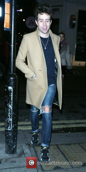 Nick Grimshaw  leaving the Groucho nightclub London, England - 20.10.12