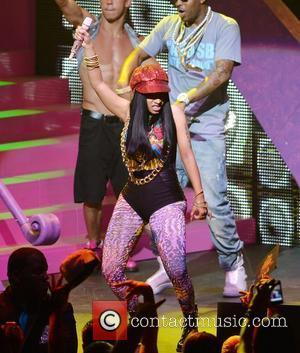 Nicki Minaj performing live on her Nicki Minaj Tour at James L Knight Center  Miami, Florida -24.07.12