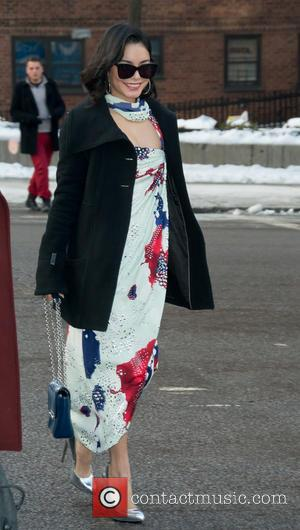 Vanessa Hudgens and New York Fashion Week