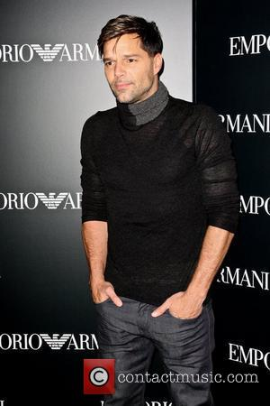 Ricky Martin Mercedes-Benz New York Fashion Week Spring/Summer 2013 – Emporio Armani - Party  New York City, USA –...