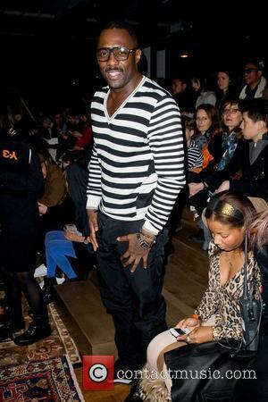 Idris Elba Mercedes-Benz Fashion Week - Fall 2012 - Y-3 - Front Row New York City, USA - 12.02.12