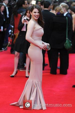 Hayley Atwell  The Olivier Awards 2012 held at the Royal Opera House- Arrivals London, England - 15.04.12