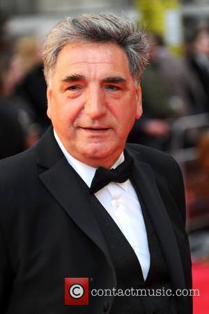 Jim Carter Teaches Downton Crew Circus Skills