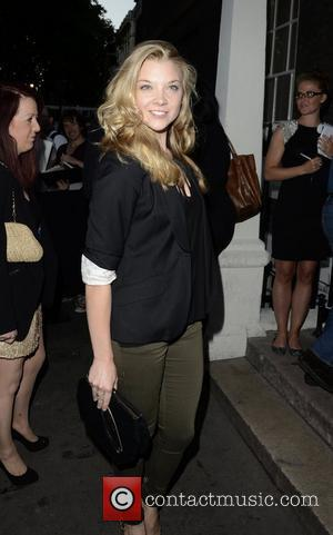 Natalie Dormer OMEGA House presents 'Athletics Night' party - outside arrivals London, England. 08.08.12