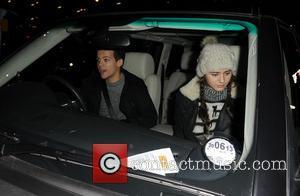 Louis Tomlinson; Girlfriend 'One Direction' arriving at Heathrow Airport  Featuring: Louis Tomlinson, Girlfriend Where: London, United Kingdom When: 21...