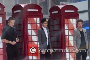 Liam Payne, Zayn Malik, Louis Tomlinson 'One Direction' performing live on the 'Today' show in New York City  New...
