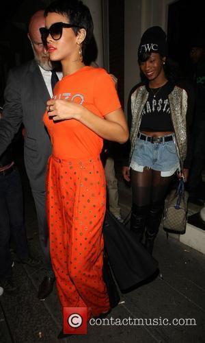 Rihanna  Celebrities leaving the Arts Club in London London, England - 09.09.12