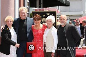 Patricia Heaton, David Hunt, family  Patricia Heaton is honored with a Hollywood Walk of Fame Star on Hollywood Blvd...