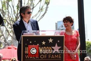 Actors Patricia Heaton and Ray Romano  Patricia Heaton is honored with a Hollywood Walk of Fame Star on Hollywood...