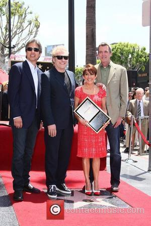 Ray Romano, David Hunt, Patricia Heaton and Star On The Hollywood Walk Of Fame