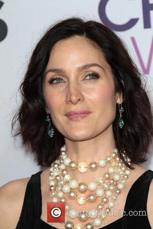 Carrie Anne Moss and Annual People's Choice Awards