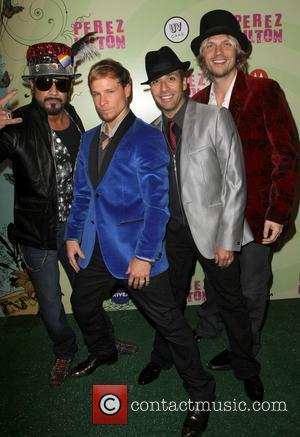 The Backstreet Boys Perez Hilton's Mad Hatter Tea Party Birthday Celebration held at Siren Studios Hollywood, California - 24.03.12