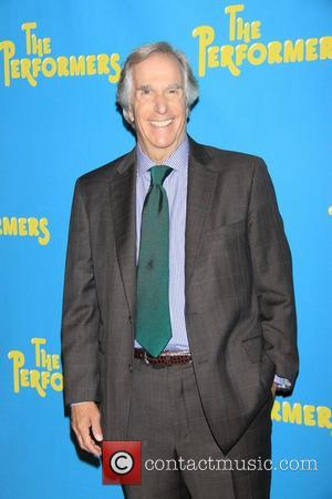 Henry Winkler Meet and greet with the cast of the Broadway comedy 'The Performers' held at the Hard Rock Cafe...
