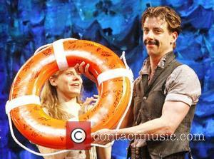 Christian Borle from the TV show 'Smash' with Celia Keenan-Bolger Christian Borle's last performance as Black Stache in the Broadway...