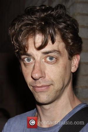 Christian Borle from the TV show 'Smash' Christian Borle's last performance as Black Stache in the Broadway play 'Peter and...