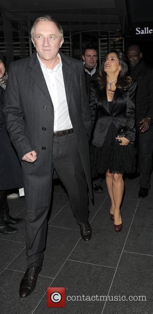 Hayek Dresses To Impress Her Husband