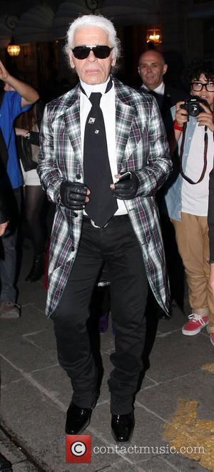 Karl Lagerfeld Paris Men's Fashion Week Spring/Summer 2013 - Versace Haute-Couture - Arrivals Paris, France - 01.07.12