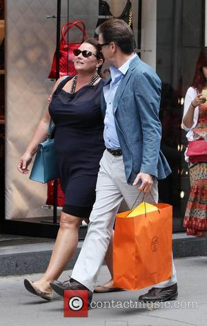 Pierce Brosnan and his wife Keely Shaye Smith take a romantic shopping trip together in Paris Paris, France - 04.08.12