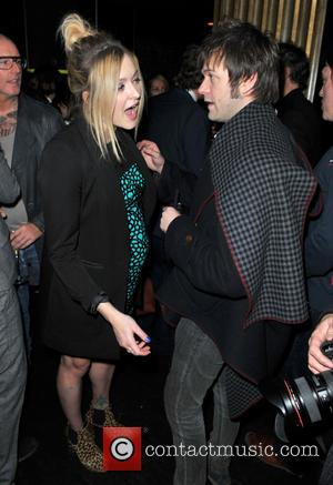 Tom Meighan; Fearne Cotton Rock stars and celebrities attend Liam Gallagher's 'Pretty Green London Collections: Men's Autumn/Winter 2013 Launch' held...