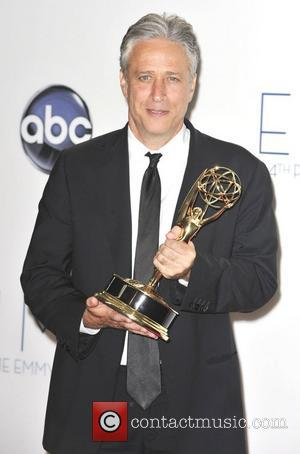 Whoops! Jon Stewart Drops The F-word At The Emmys