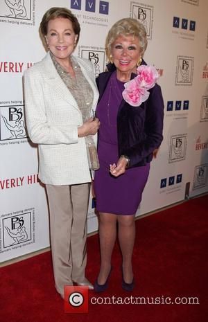Julie Andrews, Mitzi Gaynor and Beverly Hilton Hotel
