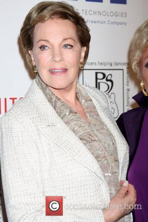 Julie Andrews and Beverly Hilton Hotel