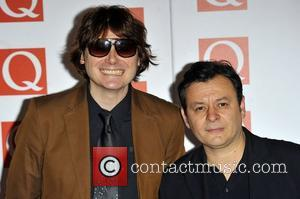 Manic Street Preachers The Q Awards held at the Grosvenor House - Arrivals London, England - 22.10.12