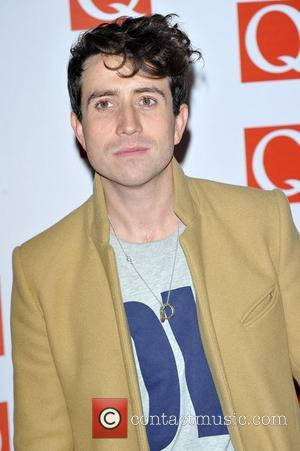 Nick Grimshaw The Q Awards held at the Grosvenor House - Arrivals London, England - 22.10.12