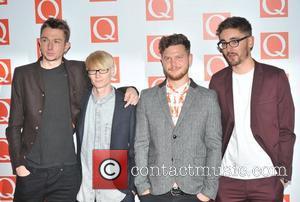 Alt-J The Q Awards held at the Grosvenor House - Arrivals. London, England - 22.10.12