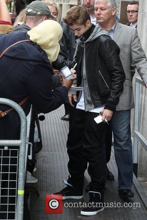 Justin Bieber  outside the BBC Radio 1 studios London, England - 06.06.12