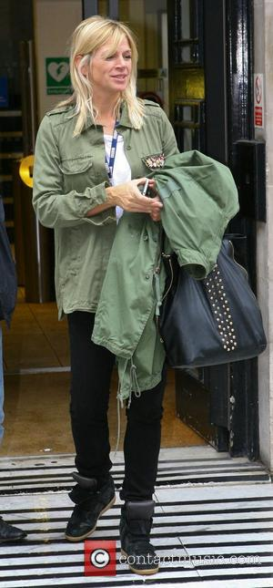 Zoe Ball at the BBC Radio 2 studios London, England - 24.09.12