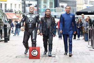 Craig Charles, Chris Barrie and Robert Llewellyn