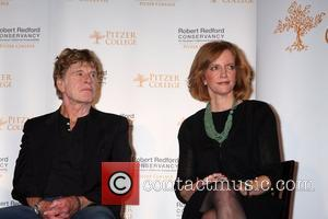 Robert Redford and Laura Skandera Trombley Pitzer College honors actor Robert Redford with the new 'The Robert Redford Conservancy'...
