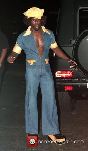 Kevin Hart  attended Rihanna's Halloween party held at Greystones Manor in West Hollywood  Los Angeles, California - 31.10.12