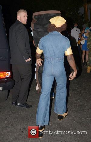 Kevin Hart arrives Rihanna's Halloween party held at Grey Stones Manor in West Hollywood  Los Angeles, California - 31.10.12
