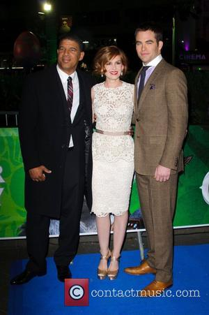 Peter Ramsey, Isla Fisher, Chris Pine and Empire Cinema