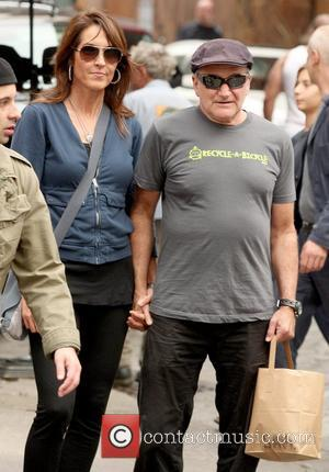 Susan Schneider and Robin Williams Robin Williams out shopping in SoHo with his wife New York City, USA - 06.10.12