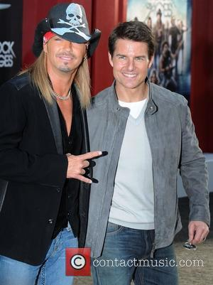 Bret Michaels and Tom Cruise Premiere of Warner Bros. Pictures' Rock Of Ages at Grauman's Chinese Theatre - Arrivals...