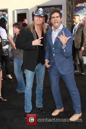 Bret Michaels, Eli Roth Premiere of Warner Bros. Pictures 'Rock Of Ages' at Grauman's Chinese Theatre - Arrivals  Los...