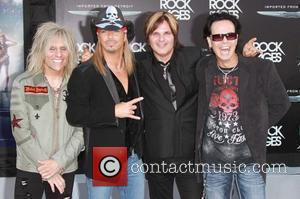 C.C. DeVille, Bret Michaels, Bobby Dall, Rikki Rockett, Poison Premiere of Warner Bros. Pictures 'Rock Of Ages' at Grauman's Chinese...