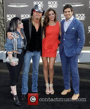 Guest, Bret Michaels, guest and Eli Roth Premiere of Warner Bros. Pictures' Rock Of Ages at Grauman's Chinese Theatre -...