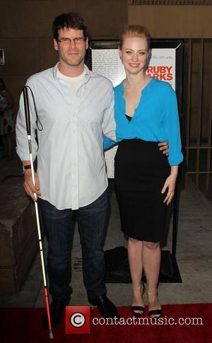 Deborah Ann Woll and Edward ( E.J) Scott attending the Los Angeles premiere of Ruby Sparks, held at The Lloyd...