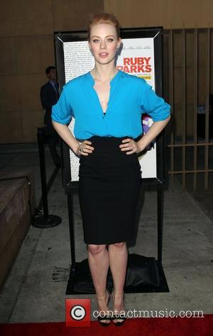 Deborah Ann Woll attending the Los Angeles premiere of Ruby Sparks, held at The Lloyd E. Rigler Theatre Hollywood, California...