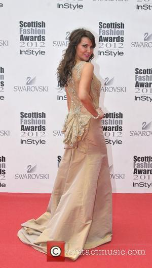 Lizzie Cundy Scottish Fashion Awards held at the SECC Clyde Auditorium - Arrivals Glasgow, Scotland - 11.06.12