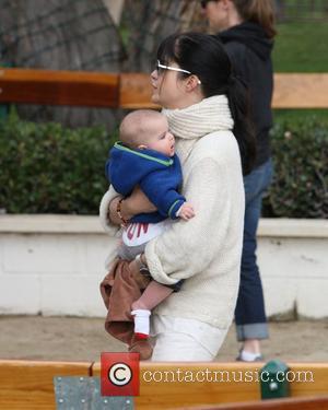 Selma Blair takes her son Arthur to a park in Malibu and then onto Malibu Country Mart Malibu, California -...