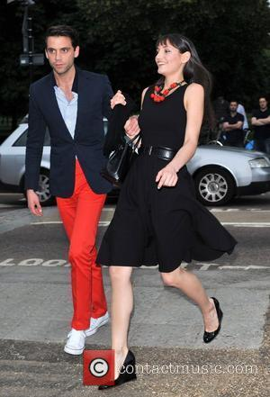 Mika and guest The Serpentine Gallery Summer Party held in Hyde Park - Arrivals. London, England - 26.06.12